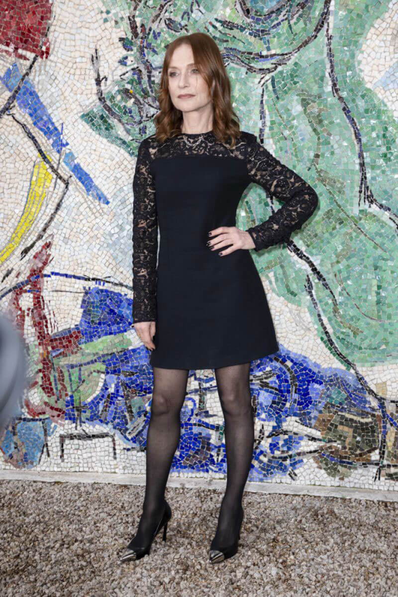 Isabelle Huppert At Louis Vuitton 2019 Cruise Collection