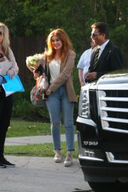 Isla Fisher Arrives on the Set The Starling in Studio City 2018/05/21 7