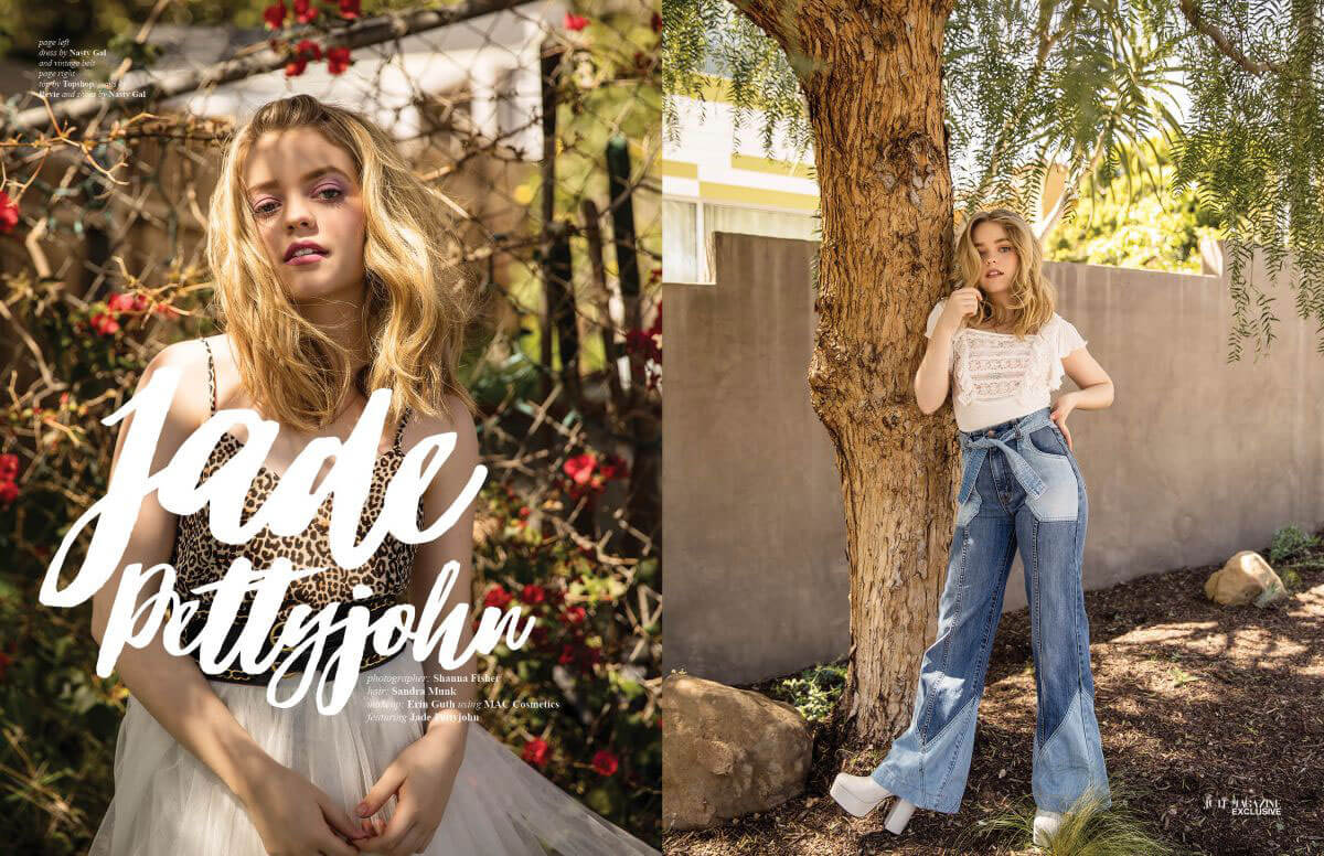 Jade Pettyjohn Poses for Jute Magazine 2018 1