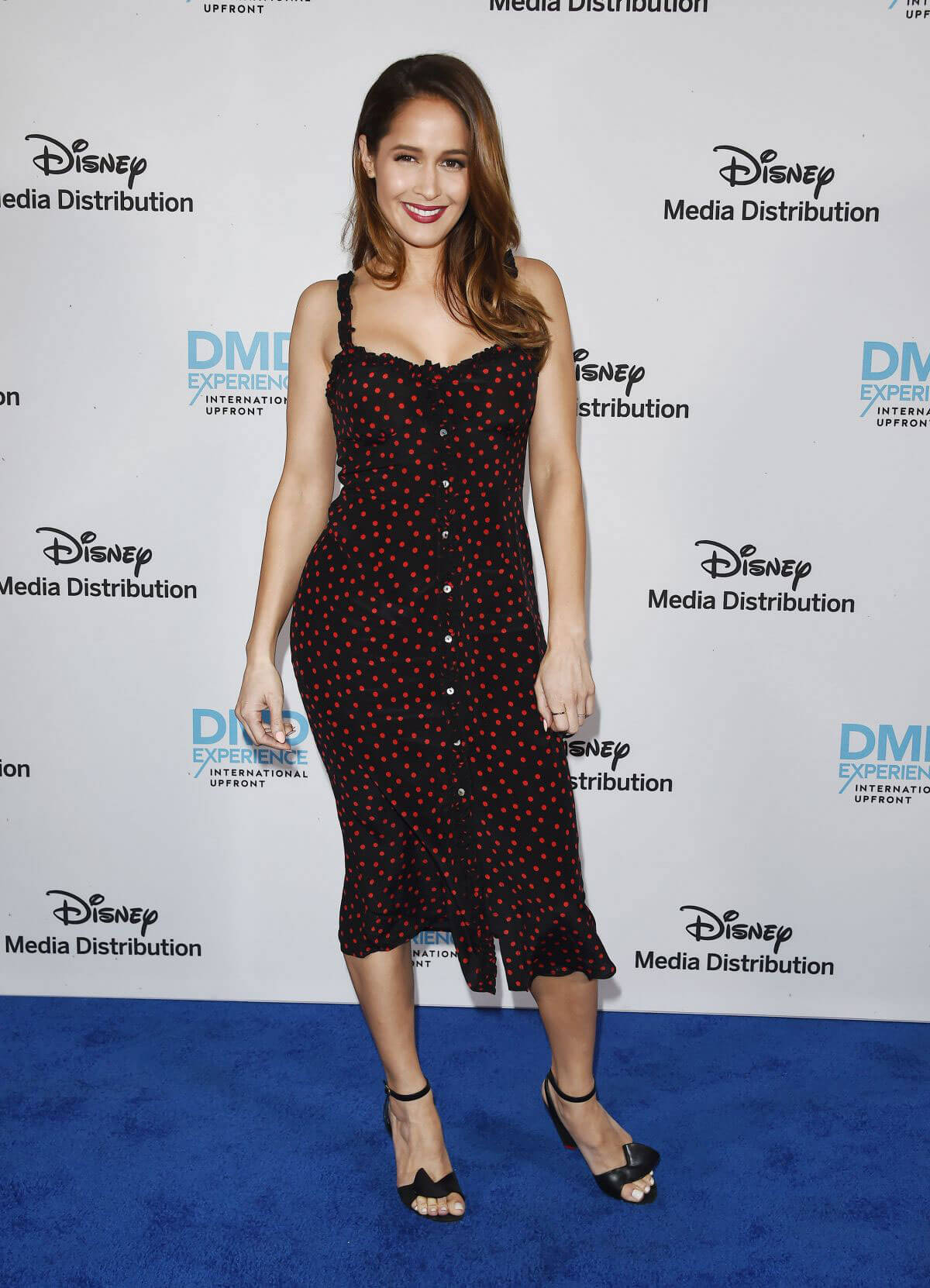 Jaina Lee Ortiz at Disney ABC International Upfronts in Burbank 2018/05/20 1