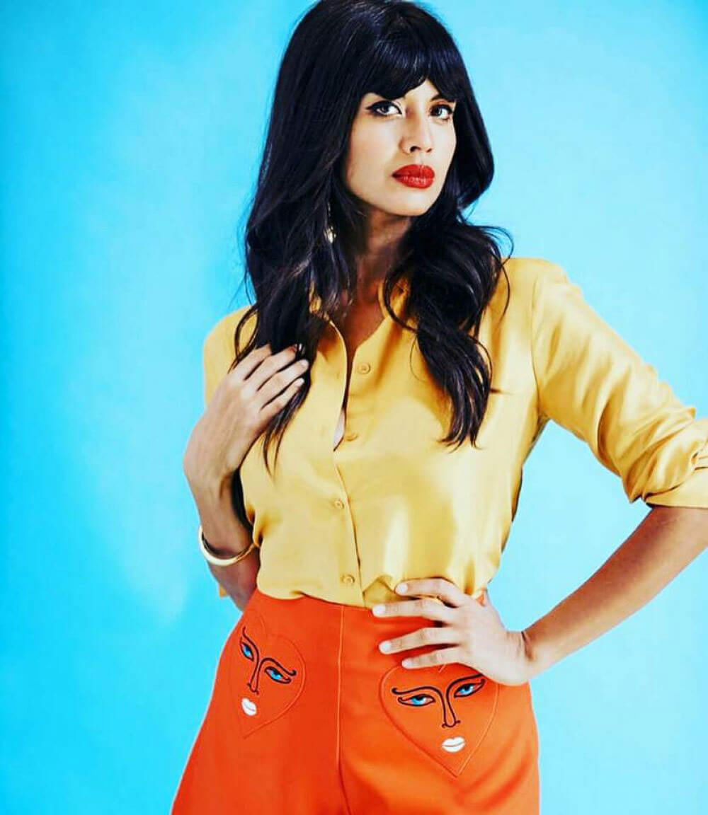 Jameela Jamil for The Guardian, July 2018 Issue 1
