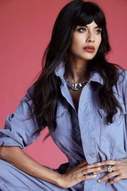 Jameela Jamil for The Guardian, July 2018 Issue 6