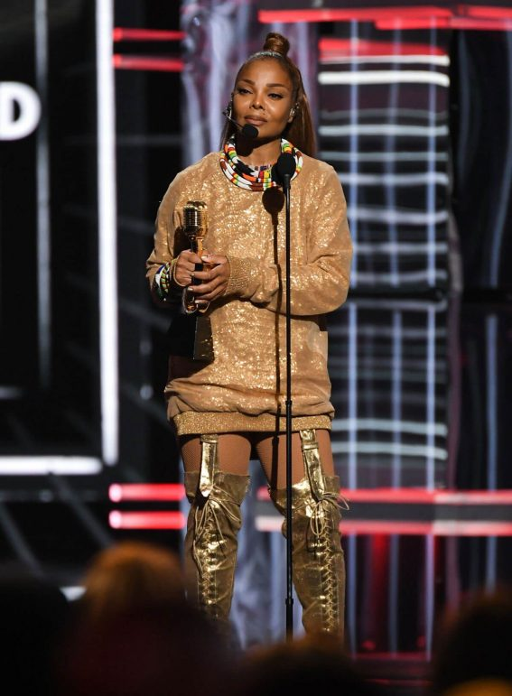 Janet Jackson at billboard music awards in las vegas 2018/05/20 1
