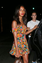 Jasmine Tookes Out for Dinner at Avra in Beverly Hills 2018/07/23 9
