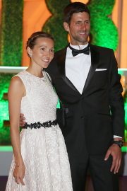 Jelena Djokovic and Novak Djokovic at Wimbledon Champions Dinner at Guildhall in London 2018/07/15 3
