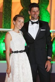 Jelena Djokovic and Novak Djokovic at Wimbledon Champions Dinner at Guildhall in London 2018/07/15 5