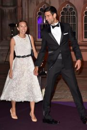 Jelena Djokovic and Novak Djokovic at Wimbledon Champions Dinner at Guildhall in London 2018/07/15 6