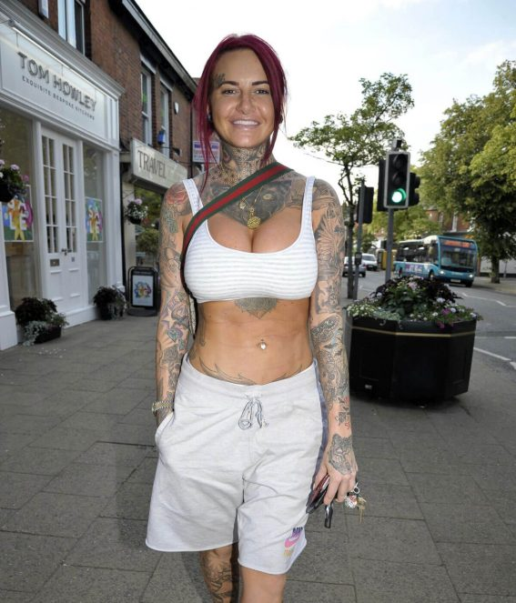 Jemma Lucy Out and About in Cheshire 2018/07/04 1