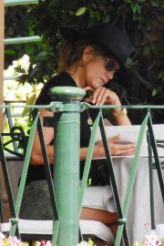 Jennifer Aniston Out for Lunch in Portofino 2018/07/21 4