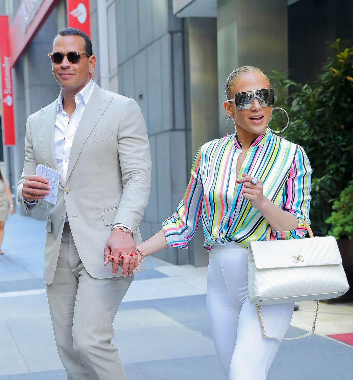 Jennifer Lopez and Alex Rodriguez Leaves Casa Lever in New York 2018/06/29 1