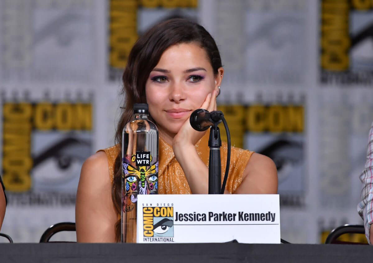 Jessica Parker Kennedy at The Flash Panel at Comic-con in San Diego 2018/07/21 1