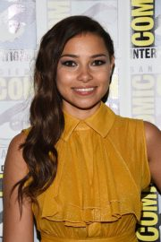 Jessica Parker Kennedy at The Flash Panel at Comic-con in San Diego 2018/07/21 4