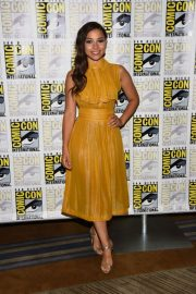 Jessica Parker Kennedy at The Flash Panel at Comic-con in San Diego 2018/07/21 5