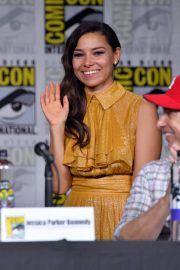 Jessica Parker Kennedy at The Flash Panel at Comic-con in San Diego 2018/07/21 6