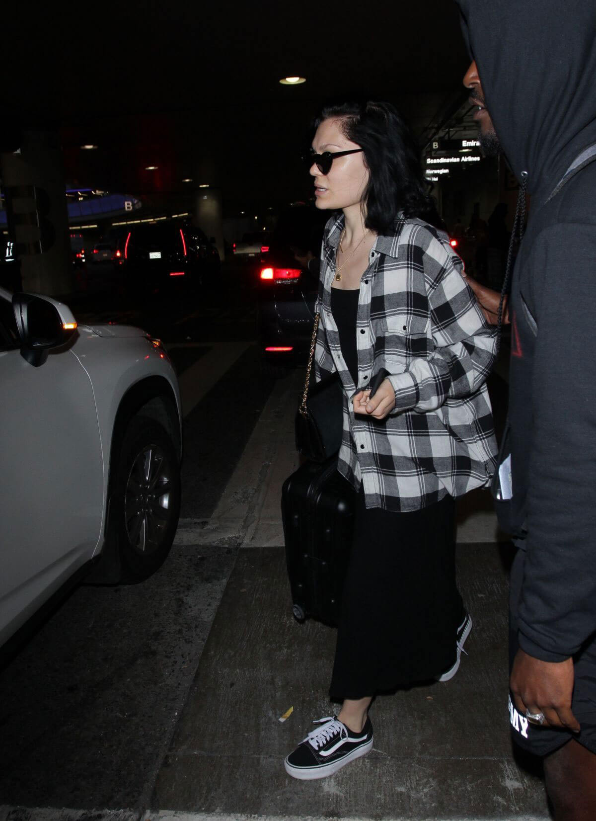 Jessie J at LAX Airport in Los Angeles 2018/07/03 1