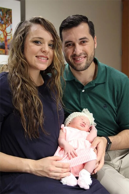 Jinger Duggar and Jeremy Vuolo Welcome A New Member To Their Family 2018/07/20 1