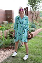 Jo Whiley at Chelsea Flower Show in London 2018/05/21 2