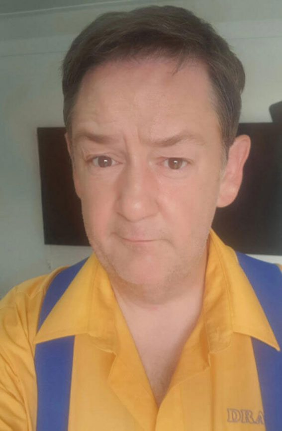 Johnny Vegas's Fans Are Going Crazy Seeing the Funny Man's Post-Divorce Wonder Weight Loss 2018/07/20 1