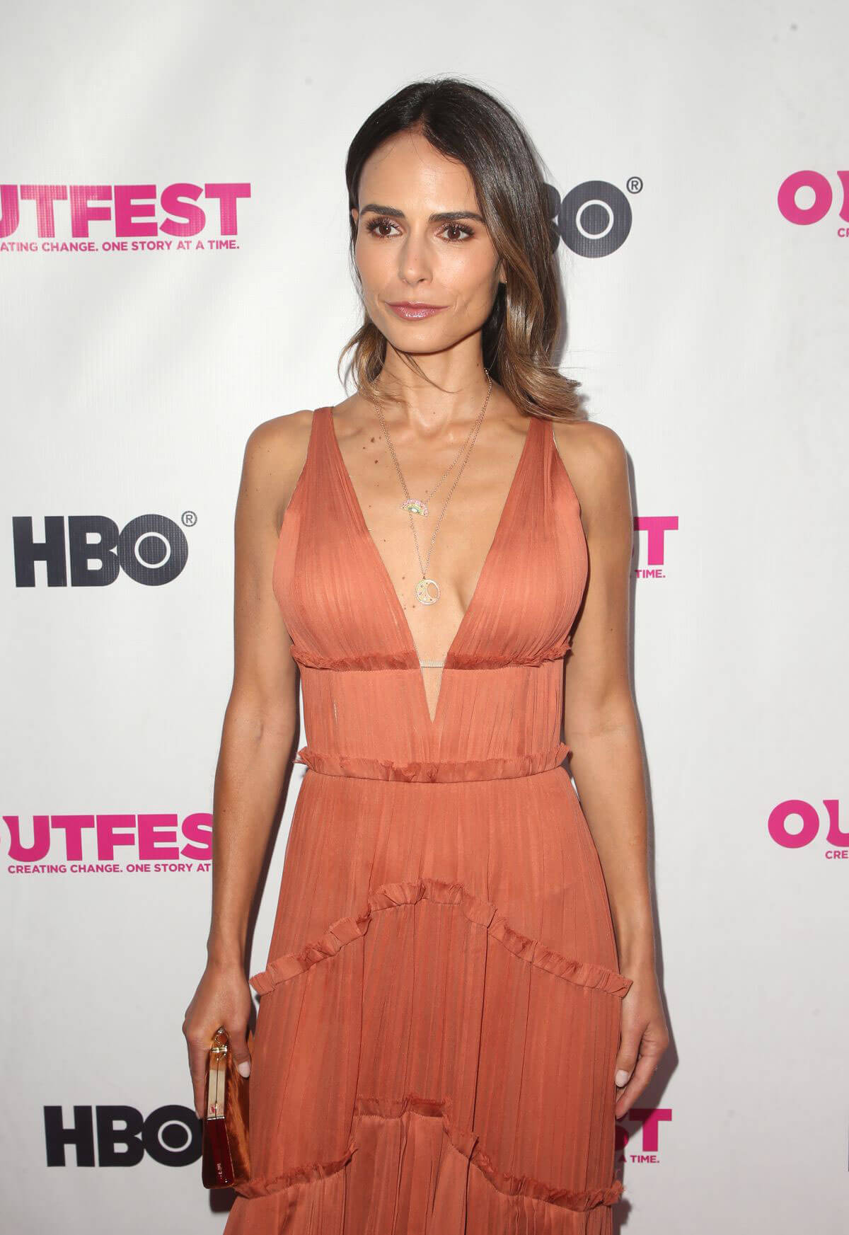 Jordana Brewster at Outfest Film Festival Opening Night Gala in Los Angeles 2018/07/12 1