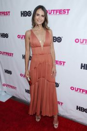 Jordana Brewster at Outfest Film Festival Opening Night Gala in Los Angeles 2018/07/12 10
