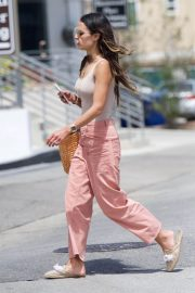 Jordana Brewster Out and About in Brentwood 201807/03 7