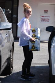 Julianne Hough Buying a Boxes of Beer in Studio City 2018/07/04 4