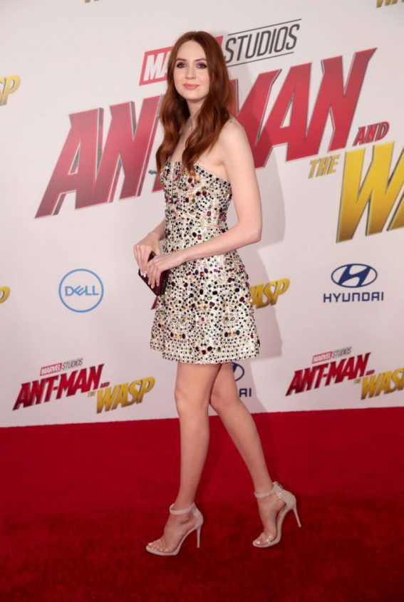 Karen Gillan at Ant man and the Wasp Premiere in Los Angeles 06/25 1
