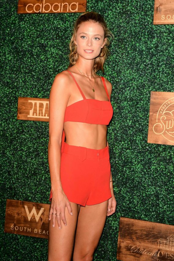 Kate Bock at Sports Illustrated Swimsuit Show at Miami Swim Week 2018/07/15 1