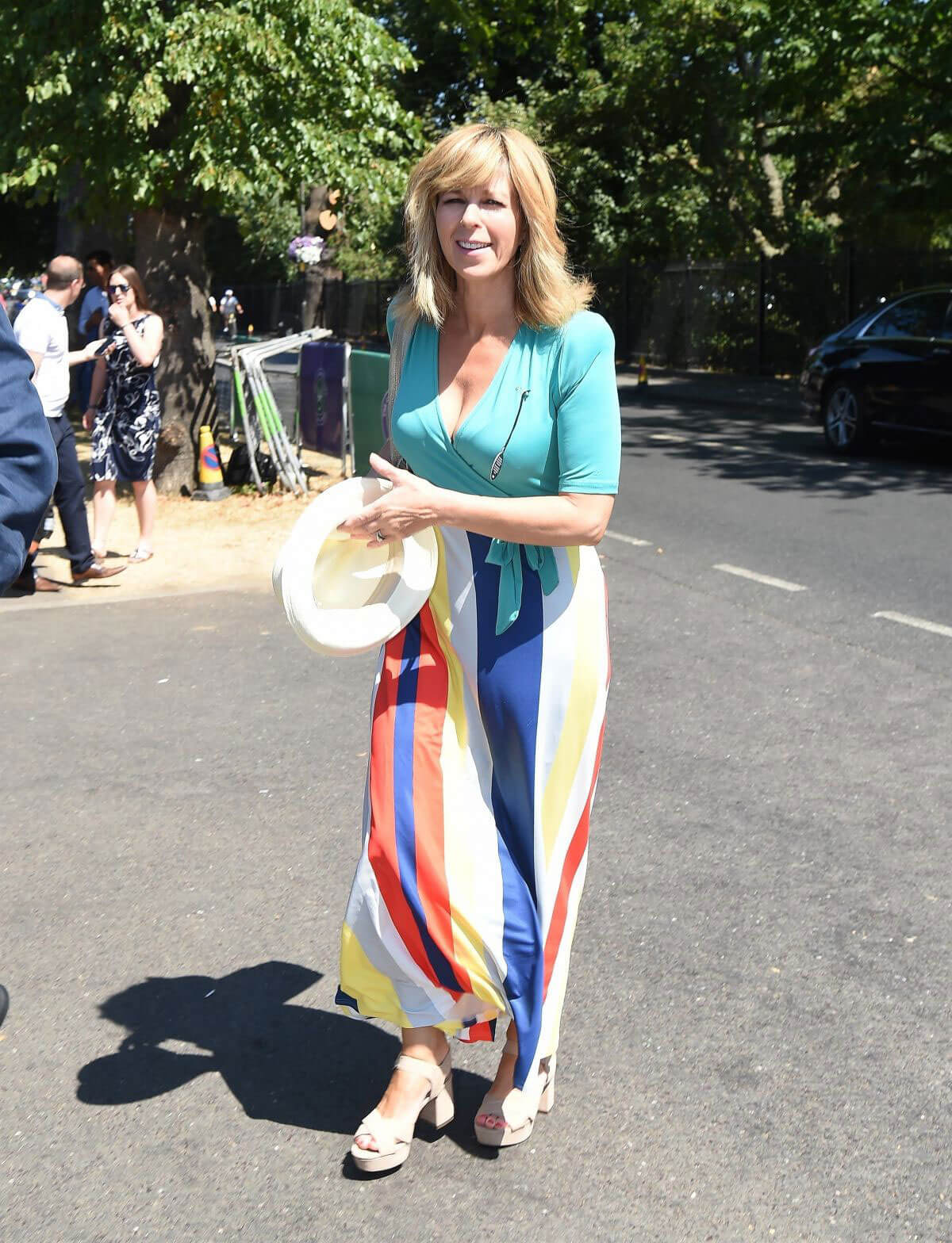 Kate Garraway at 2018 Wimbledon Tennis Tournament Final in London 2018/07/15 1