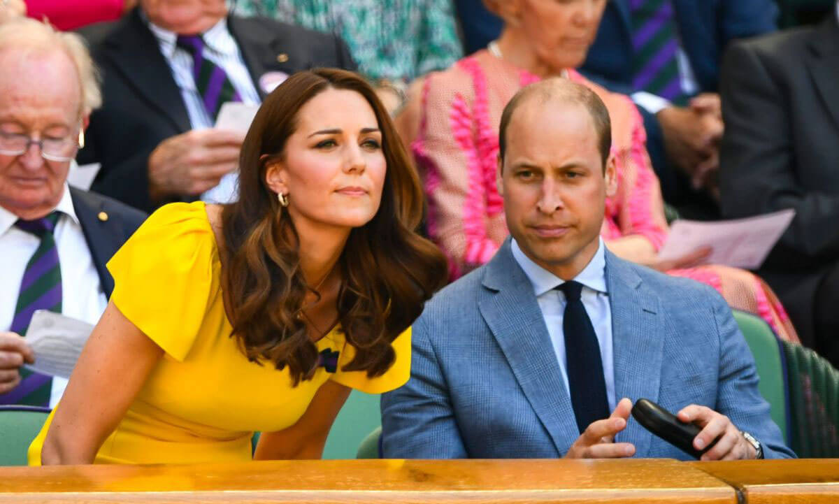 Kate Middleton and Prince William at Wimbledon Tennis Championships in London 2018/07/15 1