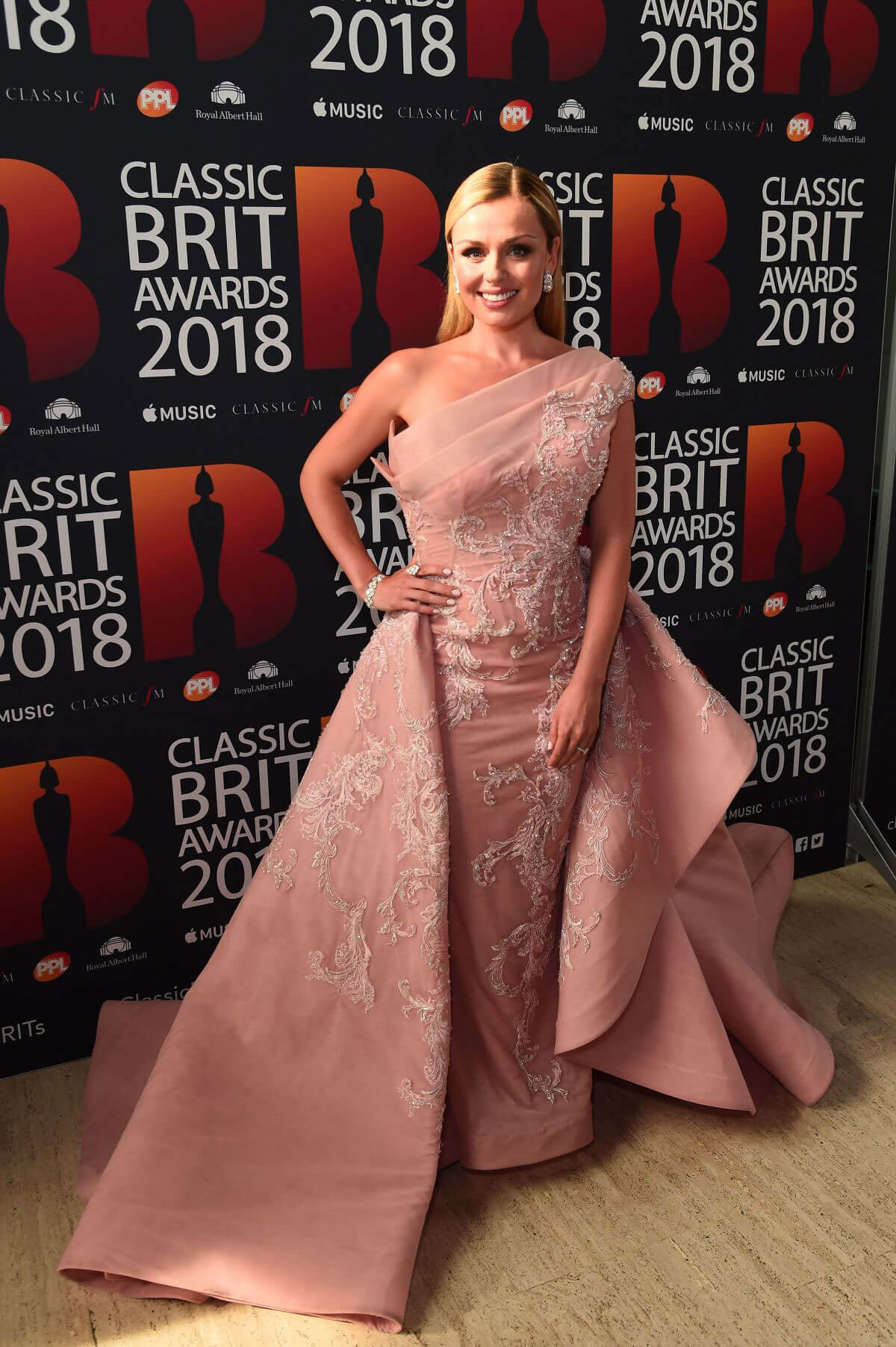 Katherine Jenkins at Classic Brit Awards in London 2018/06/13 1
