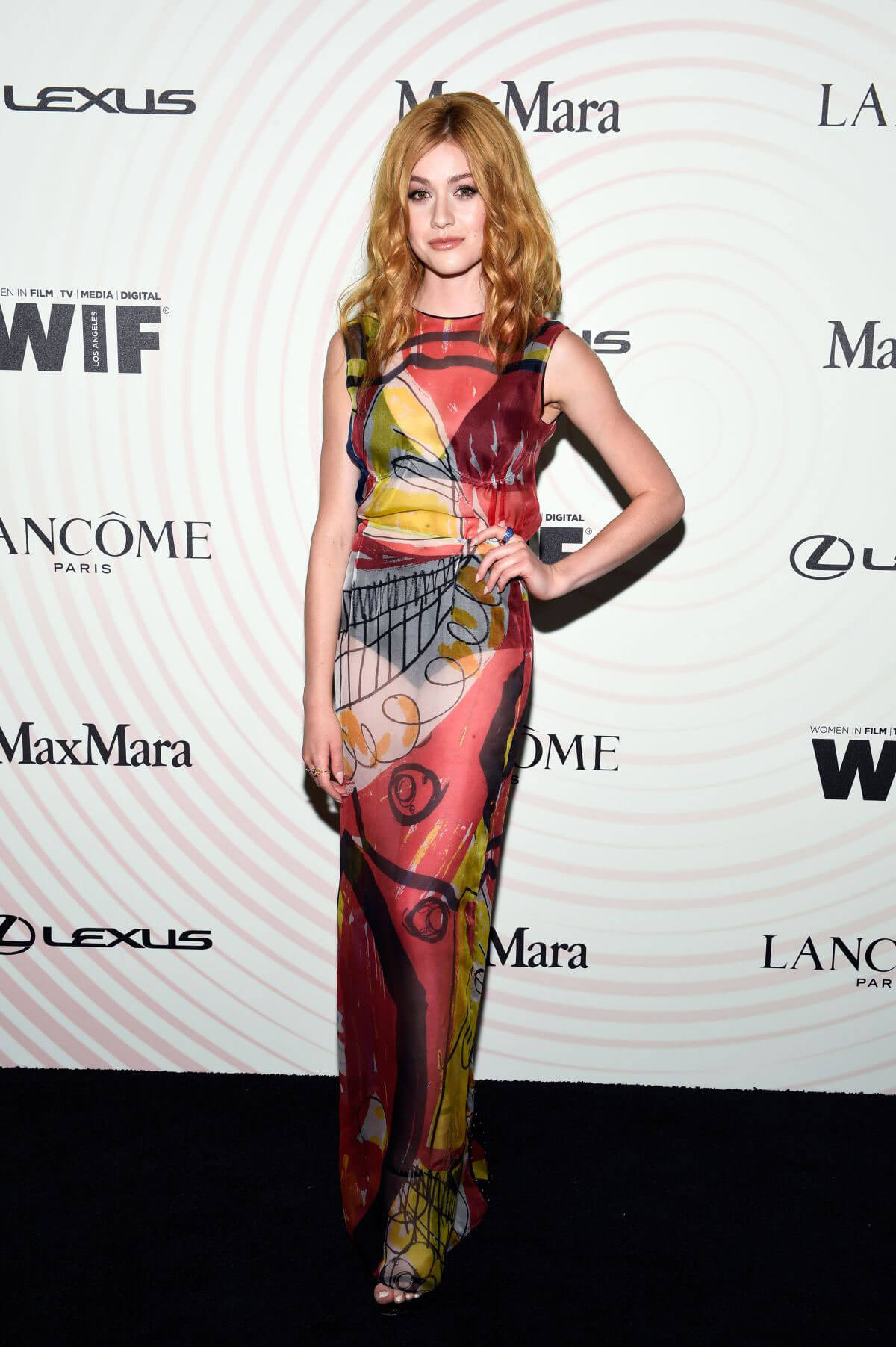 Katherine McNamara at Women in Film Crystal and Lucy Awards in Los Angeles 2018/06/13 1