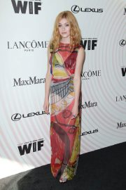 Katherine McNamara at Women in Film Crystal and Lucy Awards in Los Angeles 2018/06/13 4