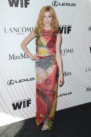 Katherine McNamara at Women in Film Crystal and Lucy Awards in Los Angeles 2018/06/13 12