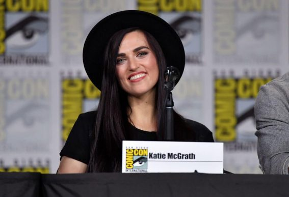 Katie McGrath at Supergirl Panel at Comic-con in San Diego 2018/07/21 1