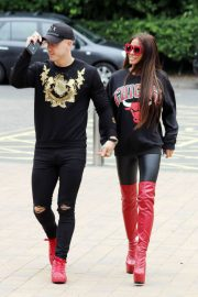 Katie Price and Kris Boyson Out in London 2018/06/25 5