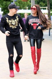 Katie Price and Kris Boyson Out in London 2018/06/25 6