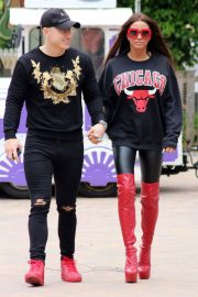 Katie Price and Kris Boyson Out in London 2018/06/25 10