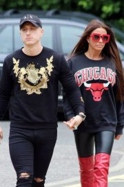 Katie Price and Kris Boyson Out in London 2018/06/25 12