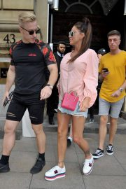 Katie Price and Kris Boyson Shopping at Harvey Nichols and Selfridges in Manchester 2018/07/28 1