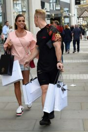 Katie Price and Kris Boyson Shopping at Harvey Nichols and Selfridges in Manchester 2018/07/28 6