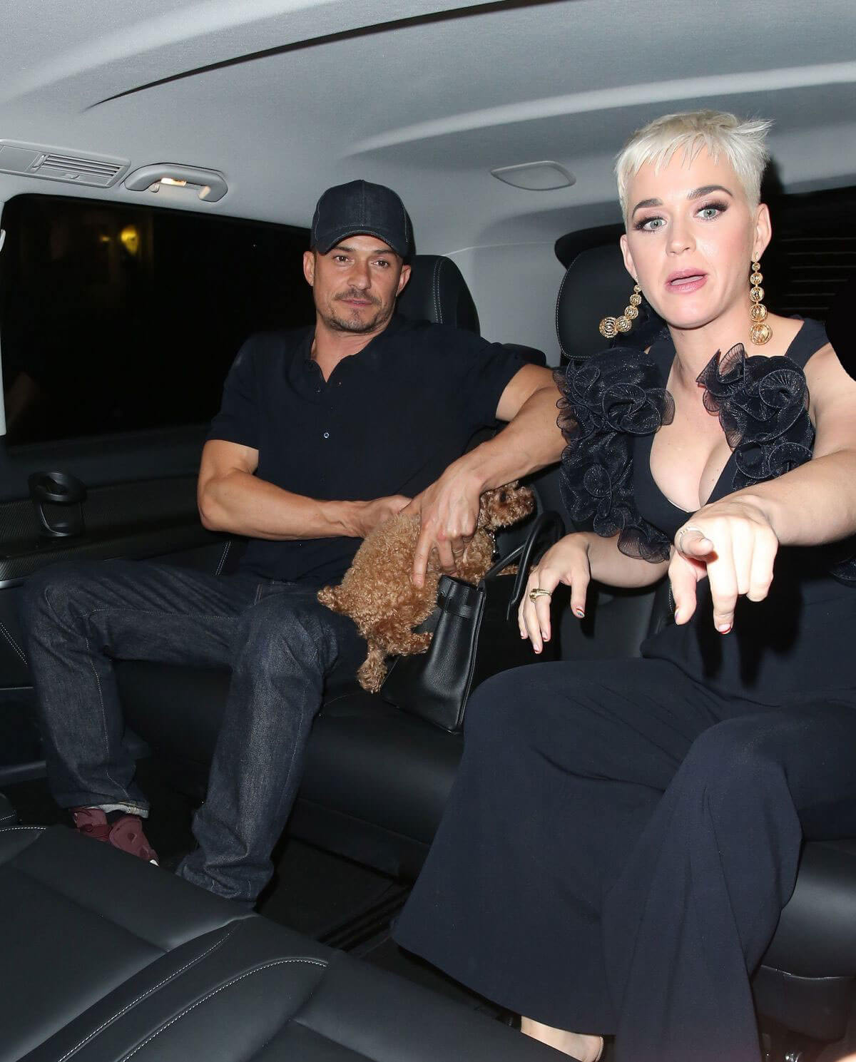 Katy Perry and Orlando Bloom at Chiltern Firehouse in London 2018/06/16 1