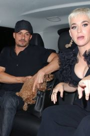 Katy Perry and Orlando Bloom at Chiltern Firehouse in London 2018/06/16 2