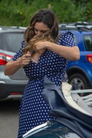 Kelly Brook on the Set of Antiques Roadshow in Battle in East Sussex 2018/07/22 2