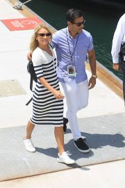 Kelly Ripa and Mark Consuelos at Comic-con in San Diego 2018/07/21 5