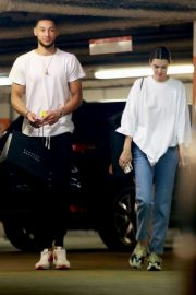 Kendall Jenner and Ben Simmons Shopping at Barney's New York in Beverly Hills 2018/06/12 11