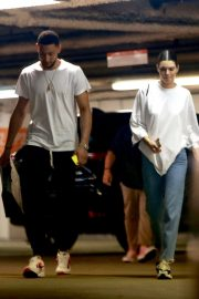 Kendall Jenner and Ben Simmons Shopping at Barney's New York in Beverly Hills 2018/06/12 15