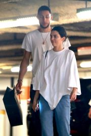 Kendall Jenner and Ben Simmons Shopping at Barney's New York in Beverly Hills 2018/06/12 16