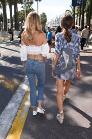 Kimberley Garner and Alice Jeffery Out in Cannes 2018/05/11 14