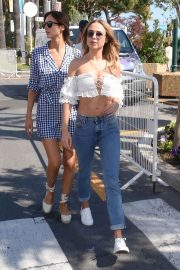 Kimberley Garner and Alice Jeffery Out in Cannes 2018/05/11 18